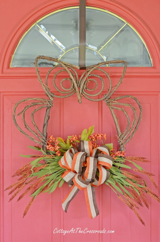 Owl Wreath | Cottage at the Crossroads