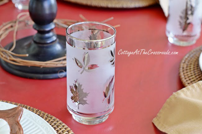 vintage glasses | Cottage at the Crossroads
