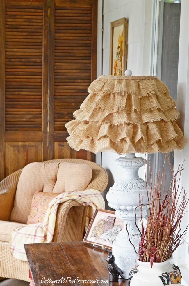 Fall Porch | Cottage at the Crossroads
