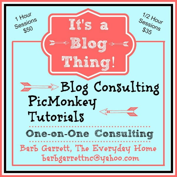 Blog Consulting Giveaway