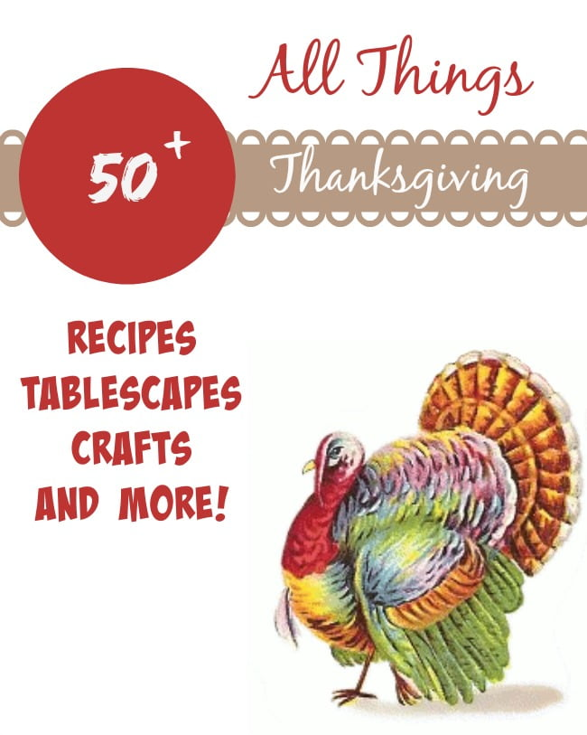 Over 50 crafts, recipes, and decor ideas  for Thanksgiving