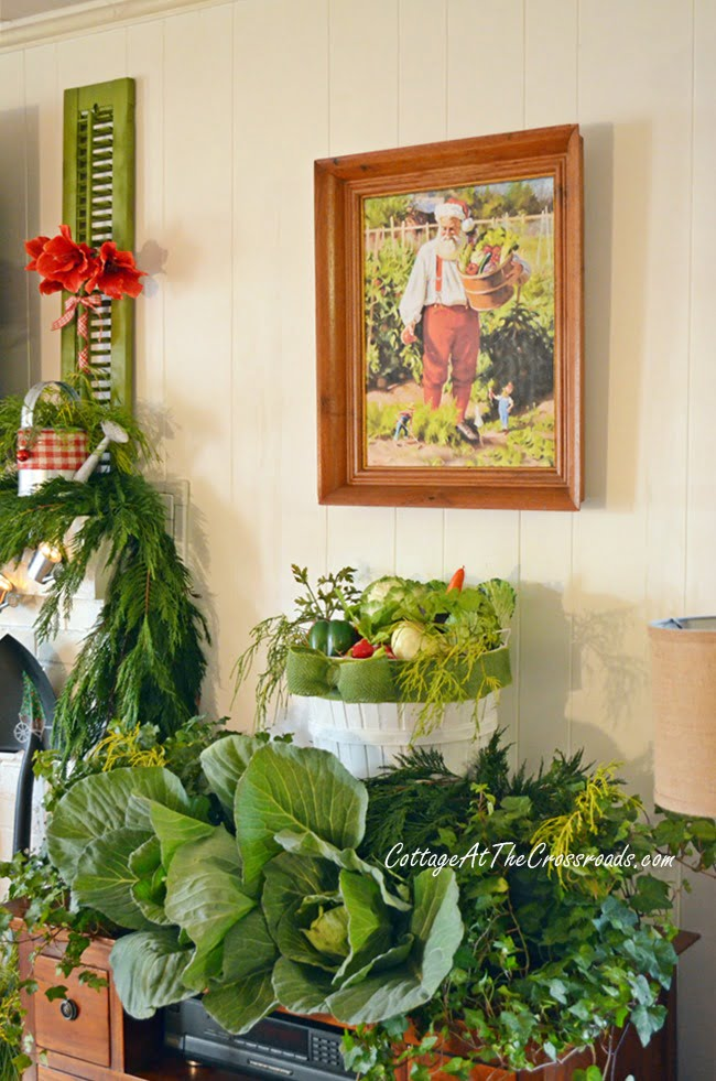 A Gardener's Christmas - Cottage at the Crossroads-How I Found My Style Sundays- Christmas Edition- From My Front Porch To Yours