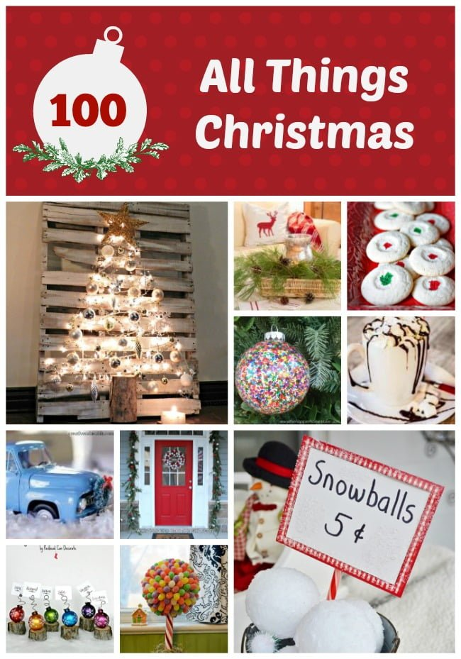 Over 100 Christmas ideas-all in one place!
