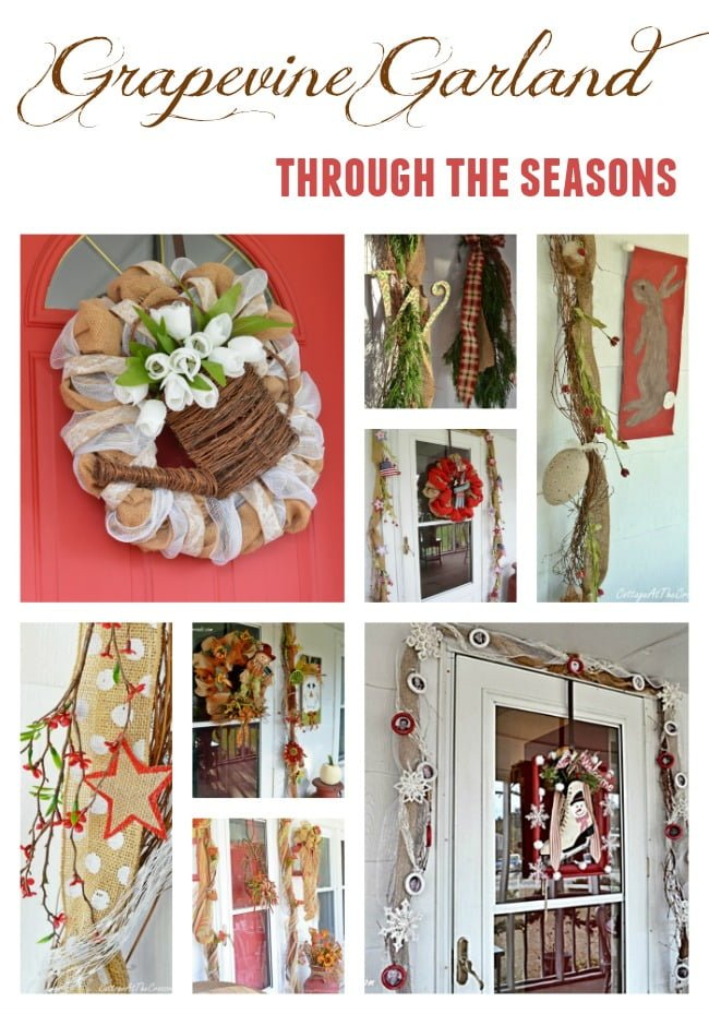when i put up a grapevine garland two years ago i had no idea that - Grapevine Garland Christmas Decorations