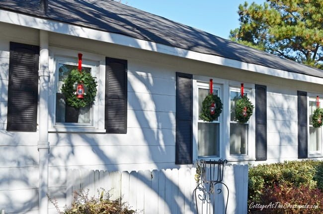 new Christmas wreaths | Cottage at the Crossroads