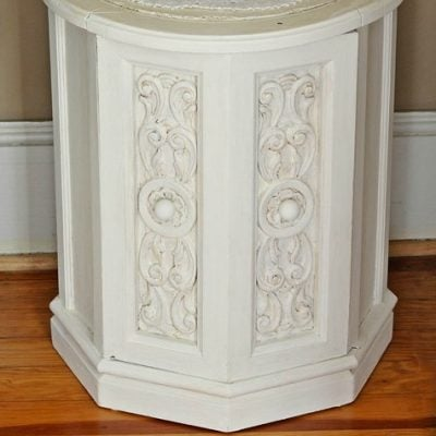chalky painted nightstand