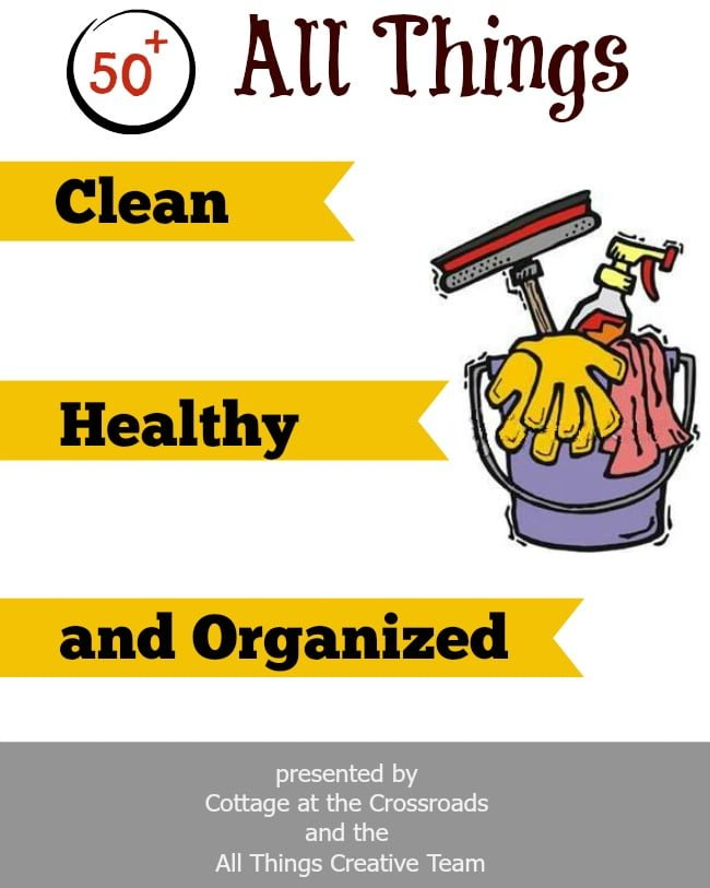All Things Clean, Healthy, and Organized  all in one place!