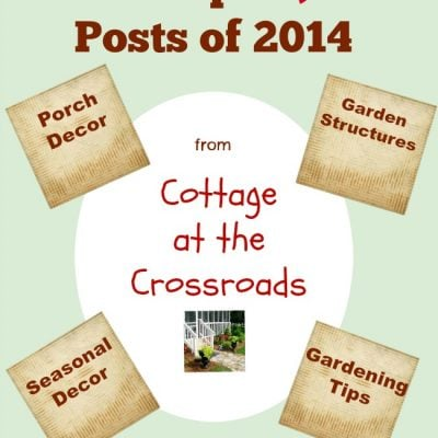 Top 5 DIY Posts of 2014 from Cottage at the Crossroads