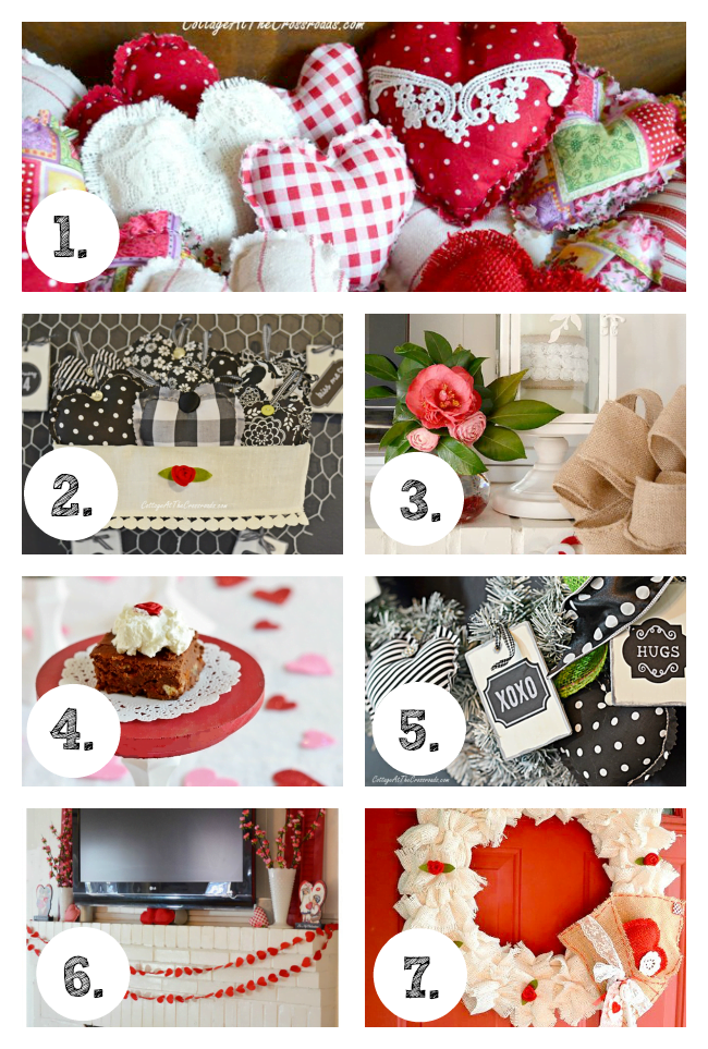 Valentine's Day Projects | Cottage at the Crossroads