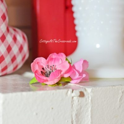Valentine's Day Mantel   Cottage at the Crossroads