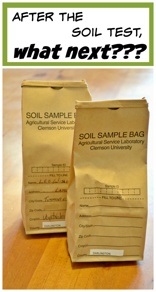 Tips for interpreting soil tests | Cottage at the Crossroads