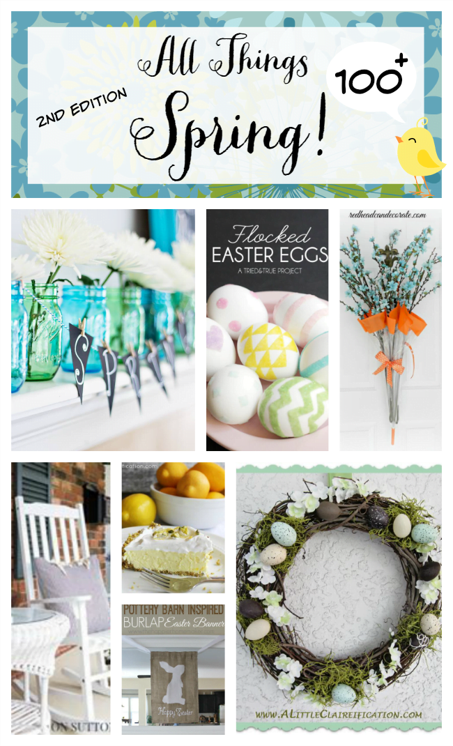 Over 100 Spring ideas-all in one place!
