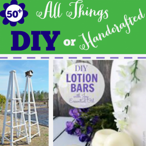All Things DIY or Handcrafted