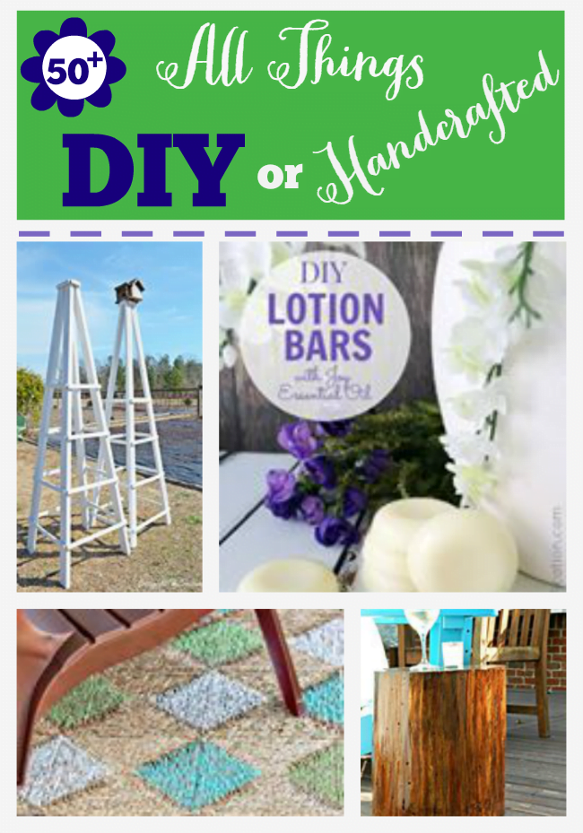 Over 50 DIY or Handcrafted Projects presented by the All Things Creative Team