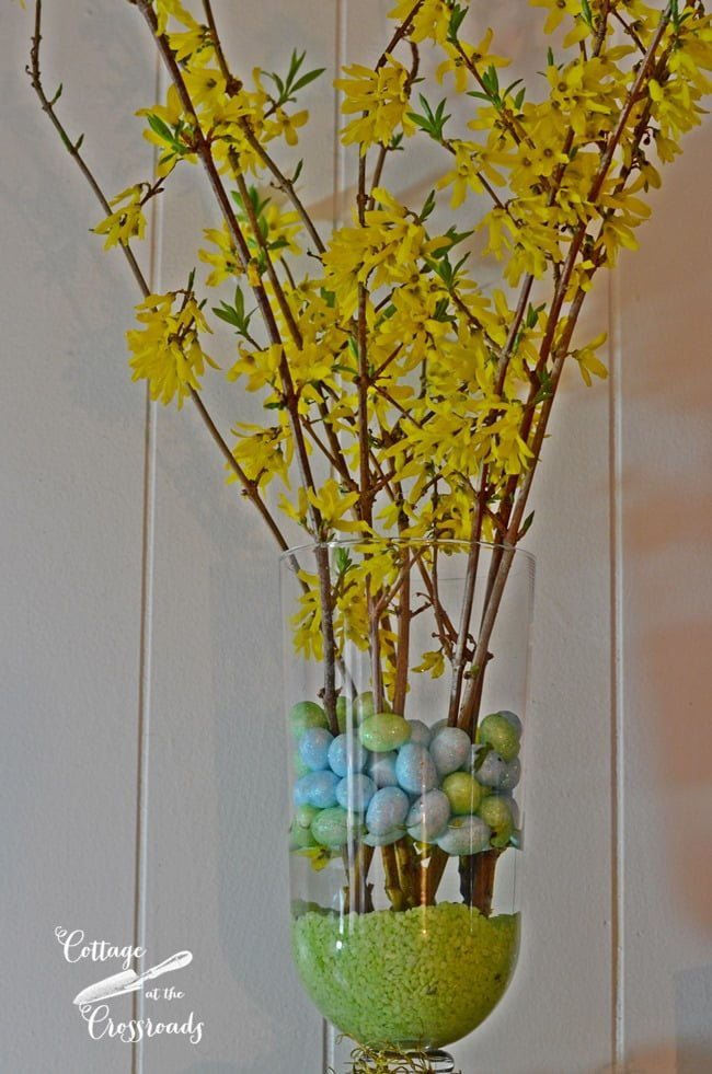 Easter Mantel | Cottage at the Crossroads