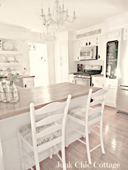 Junk Chic Cottage kitchen