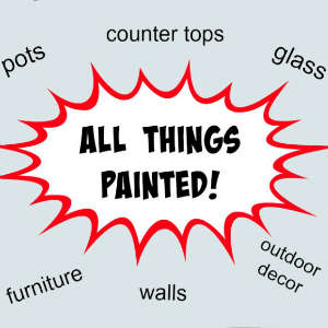 All Things Painted and a Giveaway!