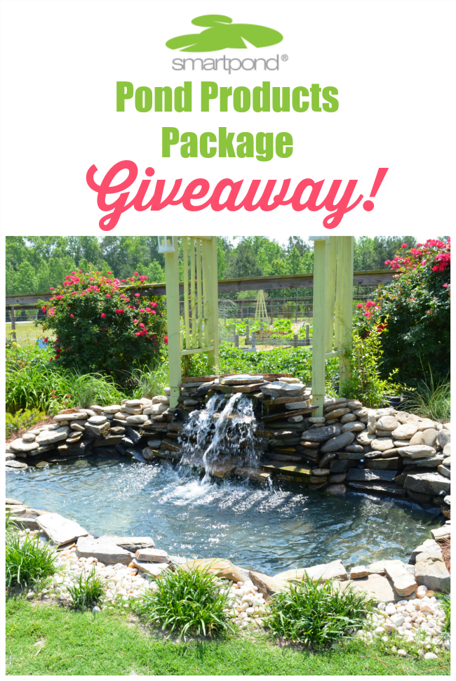 Smartpond products giveaway