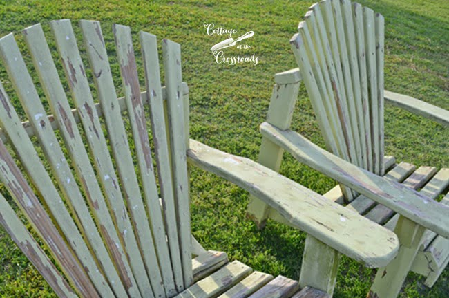 Adirondack chairs | Cottage at the Crossroads