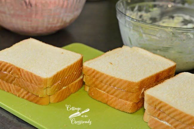 How to Make Ribbon Tea Sandwiches | Cottage at the Crossroads
