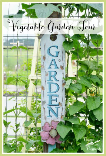 Our Vegetable Garden | Cottage at the Crossroads
