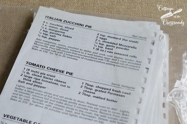 zucchini recipe | Cottage at the Crossroads