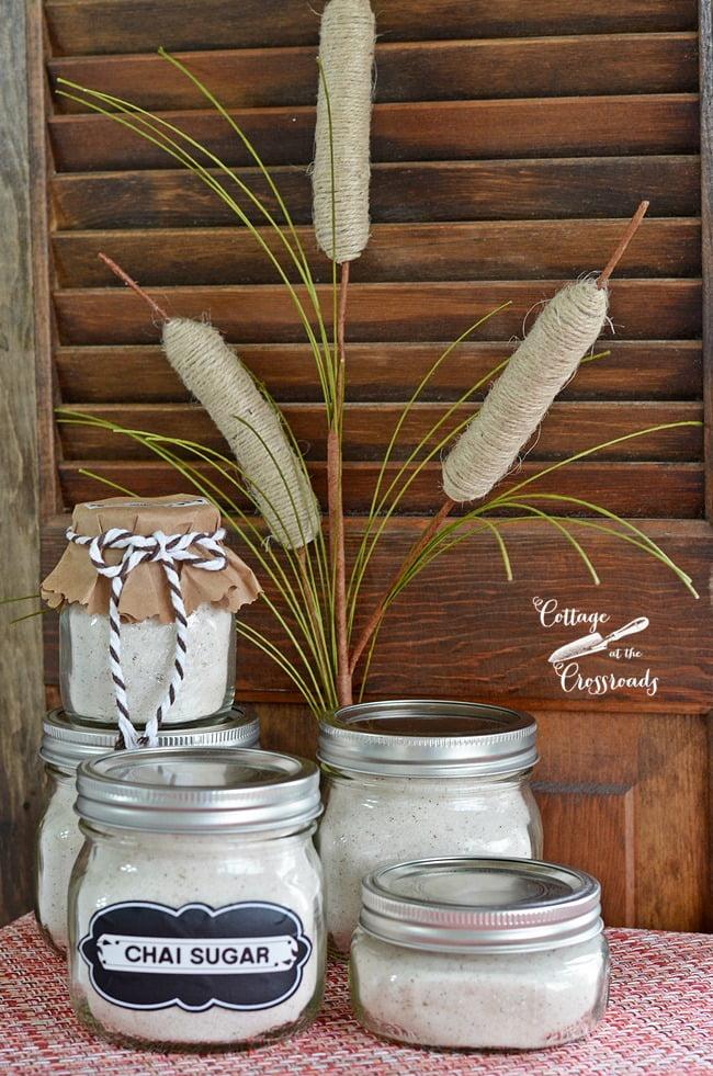 A perfect gift for a baking friend-homemade chai sugar