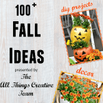 Over 100 DIY Ideas for Fall | Cottage at the Crossroads