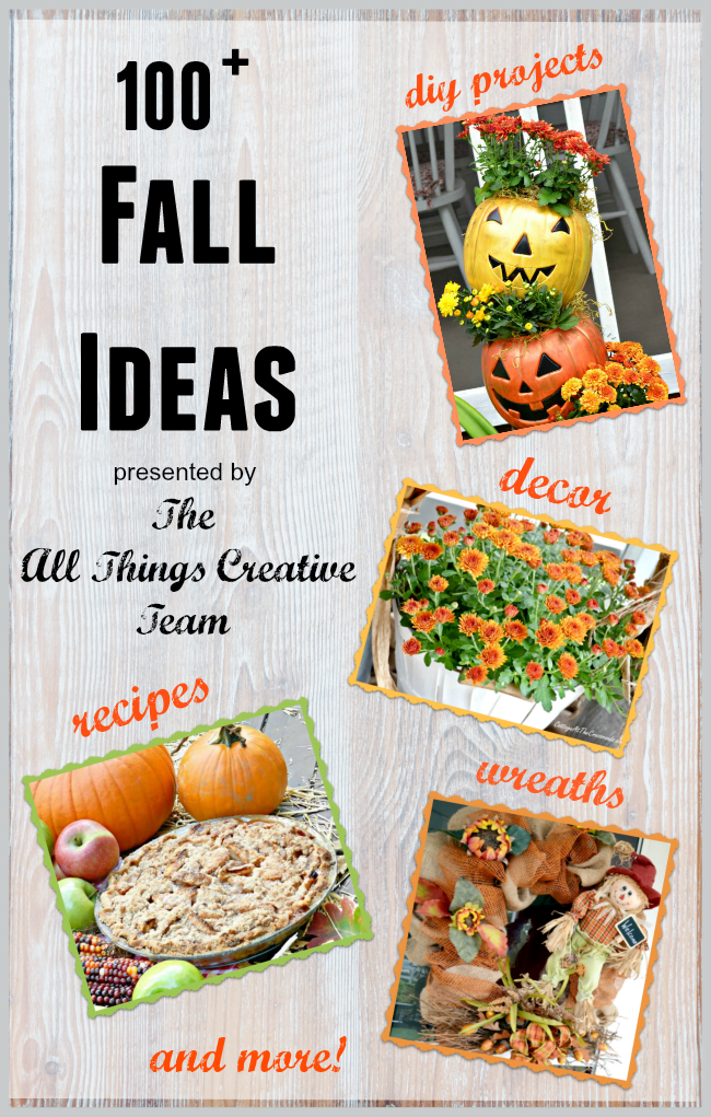 Over 100 DIY Ideas for Fall-all in one place
