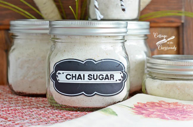 homemade chai sugar | Cottage at the Crossroads