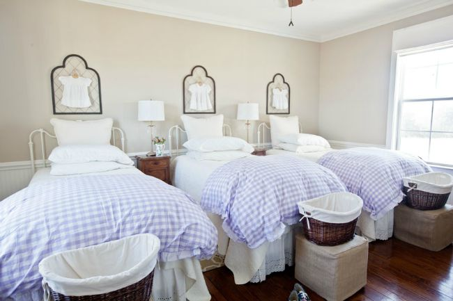 charming twin beds-Cedar Hill Farmhouse