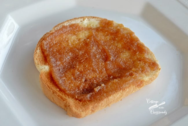 homemade apple pear butter | Cottage at the Crossroads
