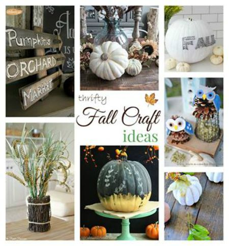 Fall Ideas Tour Crafts