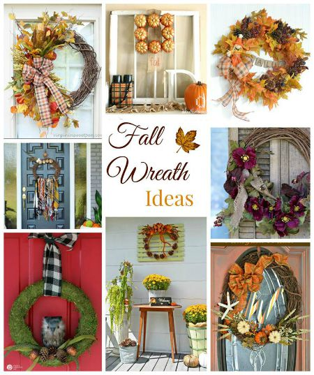 Fall Ideas Tour Wreaths