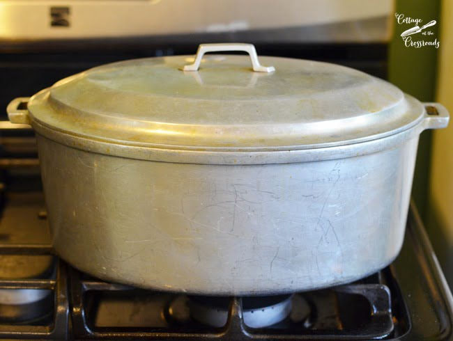 "Miracle Maid Cookware roaster-I call it my ""Magic Pot!"""