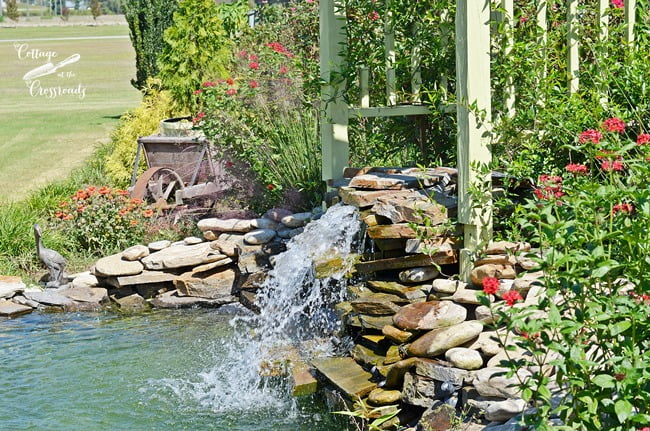 DIY Pond and Waterfall | Cottage at the Crossroads