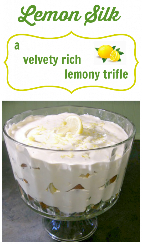A luscious, lemony trifle | Cottage at the Crossroads