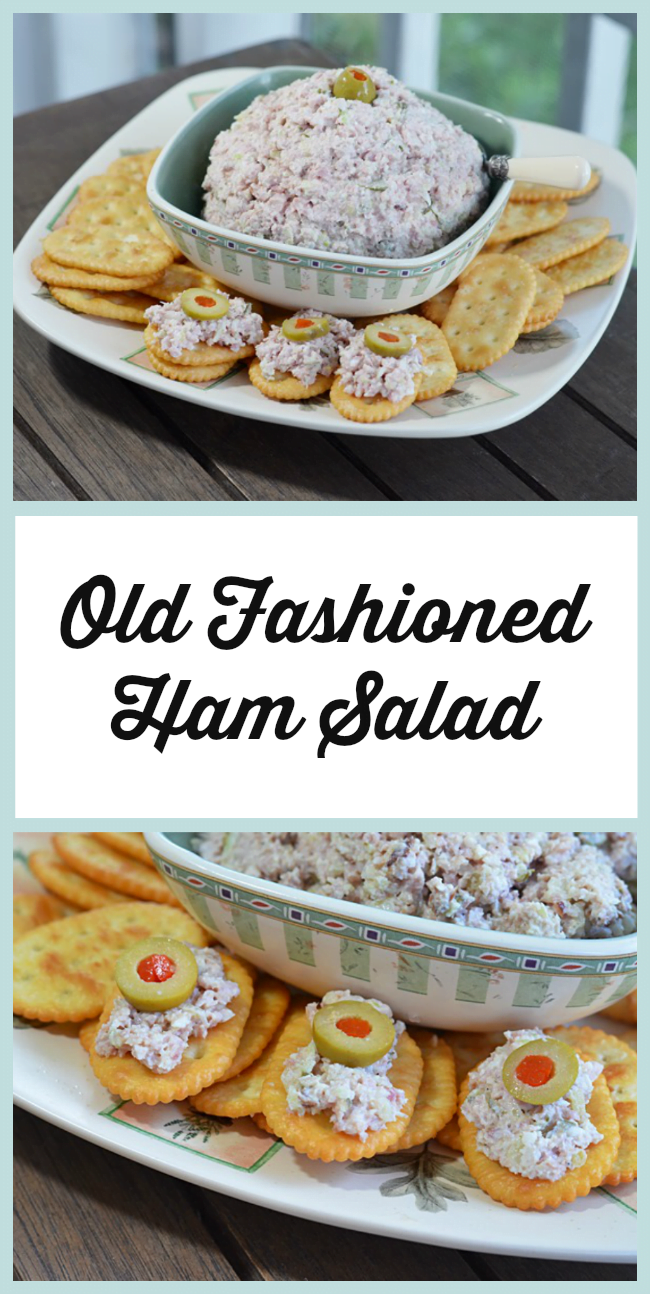 Delicious, Old Fashioned Ham Salad | Cottage at the Crossroads