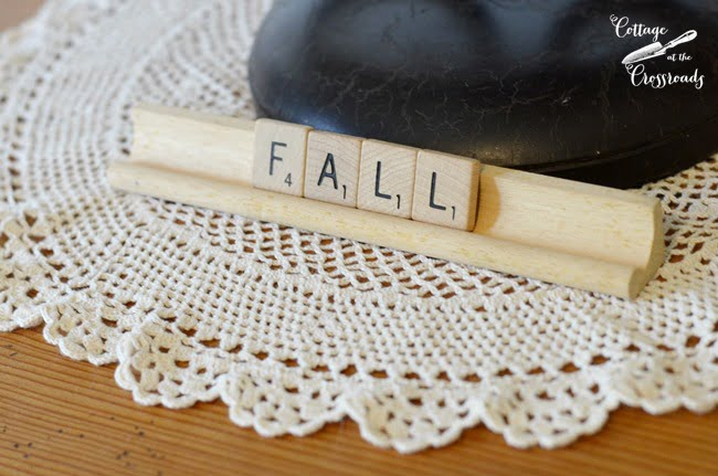 FALL scrabble tiles | Cottage at the Crossroads
