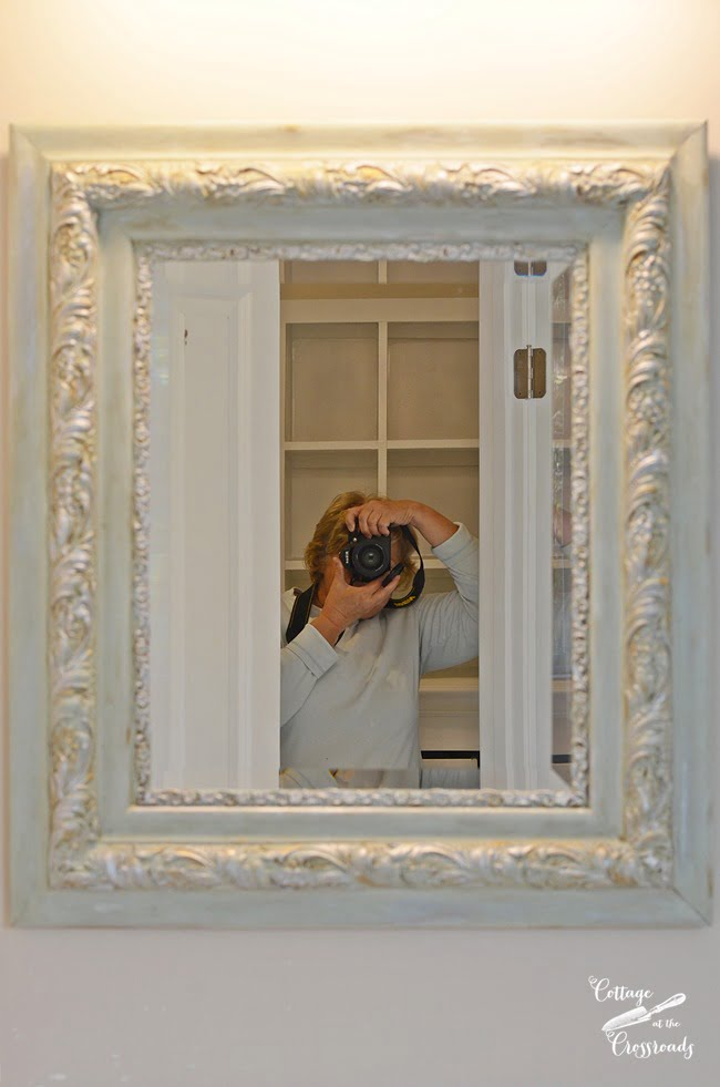 painted mirror frames | Cottage at the Crossroads