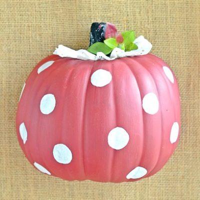 A Polka Dot Pumpkin and More