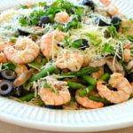 scrumptious shrimp pasta   Cottage at the Crossroads