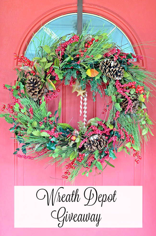 Enter to win one of 3 $100 gift certificates to The Wreath Depot!