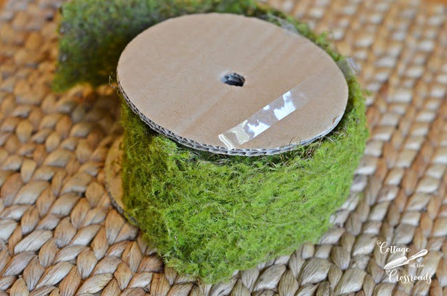 moss ribbon | Cottage at the Crossroads