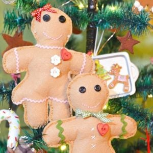 handmade gingerbread boys and girls | Cottage at the Crossroads