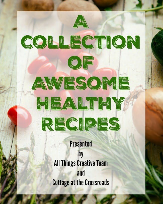 A great big collection of awesome, healthy recipes from the All Things Creative Team