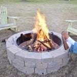 Our new Belgard outdoor fire pit | Cottage at the Crossroads