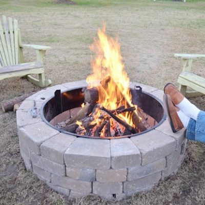 Our New Belgard Outdoor Fire Pit