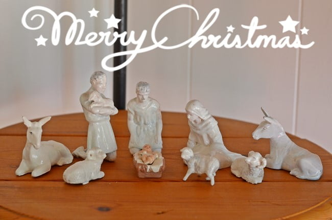 nativity set | Cottage at the Crossroads