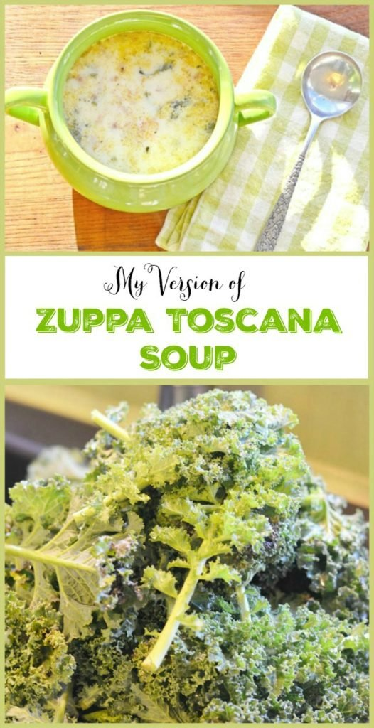 My own delicious version of zuppa toscana soup | Cottage at the Crossroads
